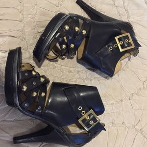 Michael Antonio Studded Heels